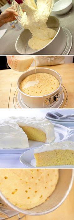 Pastel Tres Leches muy cremoso que se derretirá en tu boca. #tresleches #3 #leches #lechecondensada #lalechera #dulces #chantilly #vainilla #vainillas #postres #receta #recipe #casero #torta #tartas #pastel #nestlecocina #bizcocho #bizcochuelo #tasty #cocina #chocolate #pan #panes Si te gusta dinos HOLA y dale a Me Gusta MIREN…