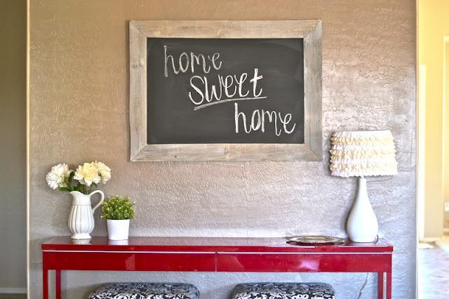 DIY: Pallet Chalkboard.: Chalkboards Pallets, Diy Ideas, Frames Chalkboards, Pallets Frames, Cute Ideas, Crafty Types, Pallets Chalkboards, Art Projects, Pallets Projects