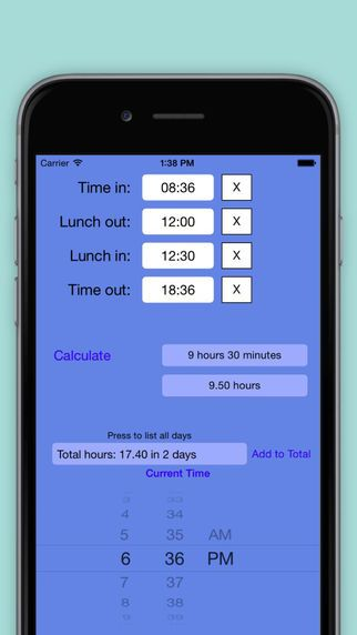 Time Clock Helper by Don Espe