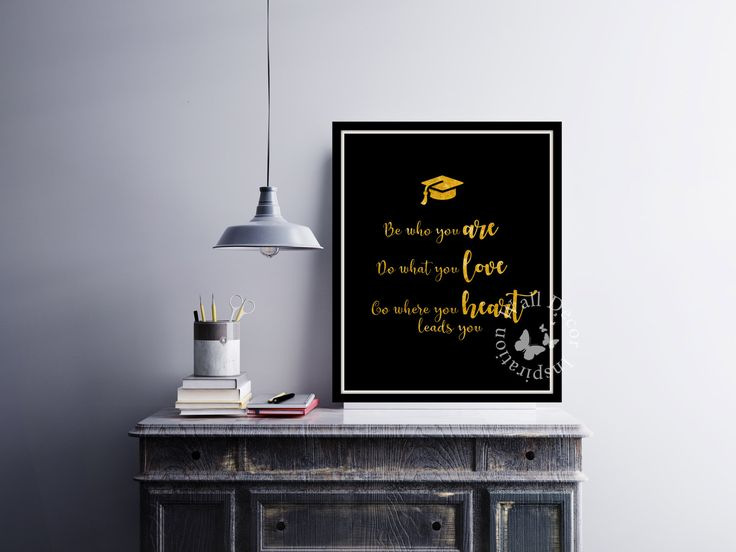 Be who you are | Gold foil glitter | #Inspiration Poster | #HomeDecor Print | #Printable Quote | Typography | #Graduation #giftidea by InspirationWallDecor on Etsy. Check more #digitalprint #walldecor #artprint themed at my #etsy store:  www.etsy.com/shop/InspirationWallDecor
