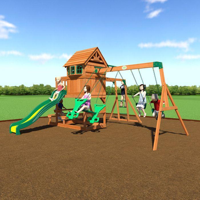 17 best ideas about Cedar Swing Sets on Pinterest