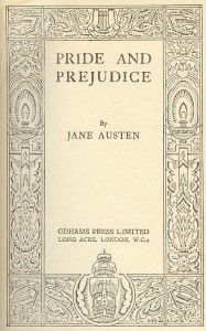 Pride and Prejudice....absolutely love this book!