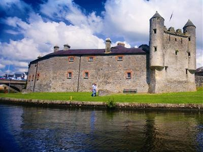Enniskillen Castle, where the McGuires used to live!