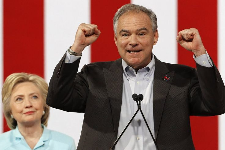 """He spoke Spanish to the cheering crowds and delivered a healthy dose of humility in a diseased election year. In other terms, Tim Kaine merely took America by storm. """">  Holy crap. He killed it.   Im not trying to spin you. Im sitting here in shock. Shock. Tim Kaine was unbelievable.   He was natural. He was smart. He was relaxed and funny, and he was serious. He was proud of himself and his wife and family but never arrogant. He was humble without ever being cloying in that way the…"""
