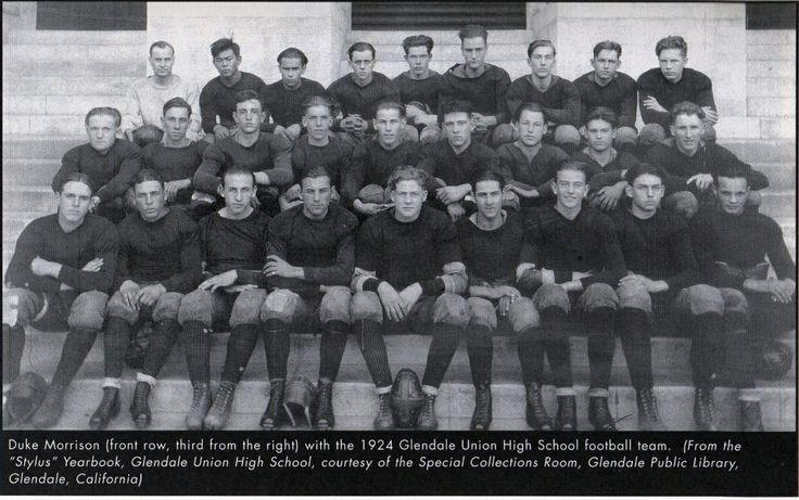 Glendale union high school football team john wsyne is