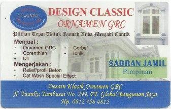 Design Classic Ornamen GLC