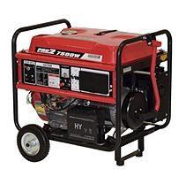 Gentron 6,000W / 7,500W Portable Gas Powered Generator w/ Electric Start