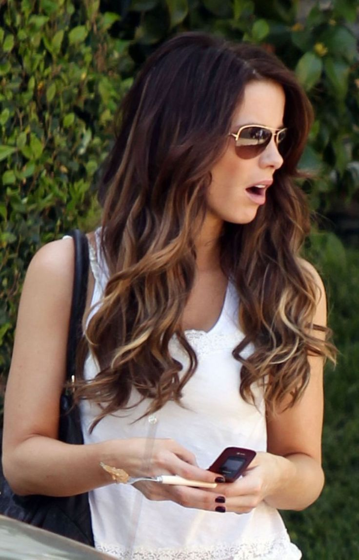 Dark Brown Ombre Hair Hair Amp Makeup Inspo Pinterest