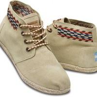 Sand Alarco Women's Desert Boots | TOMS.com