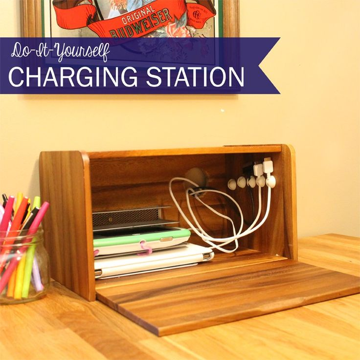 Cables, chargers, power strips, oh my! We all have them. Phone chargers, tablet chargers, laptop chargers. Every outlet with a nearby flat surface is spoken for. What an eyesore they are! Sadly, we can't live our…