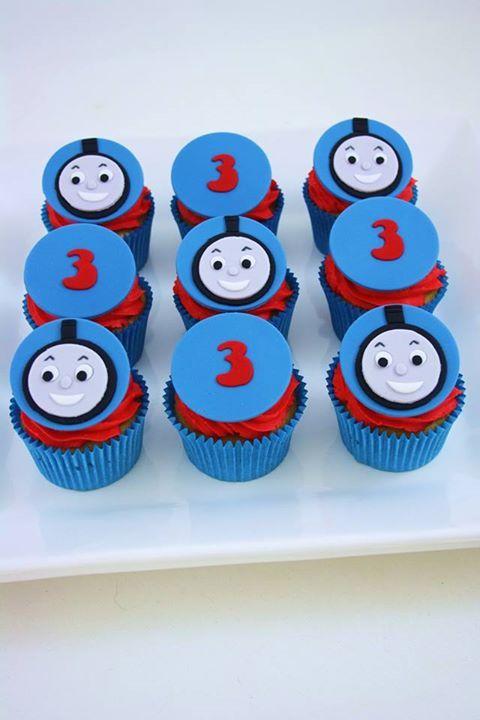 Toppers para cupcakes con numero