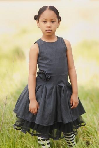 Jottum Susi Navy Dress #littleskyefall2012