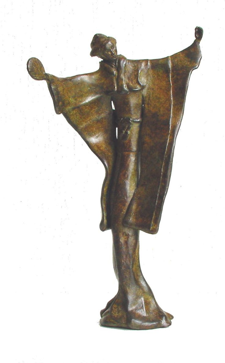 Dance for Me  / Bronze Sculpture by Corinna de Jong