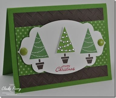 Stampin' Up! Christmas  by Claudia P at Stamping in Columbus