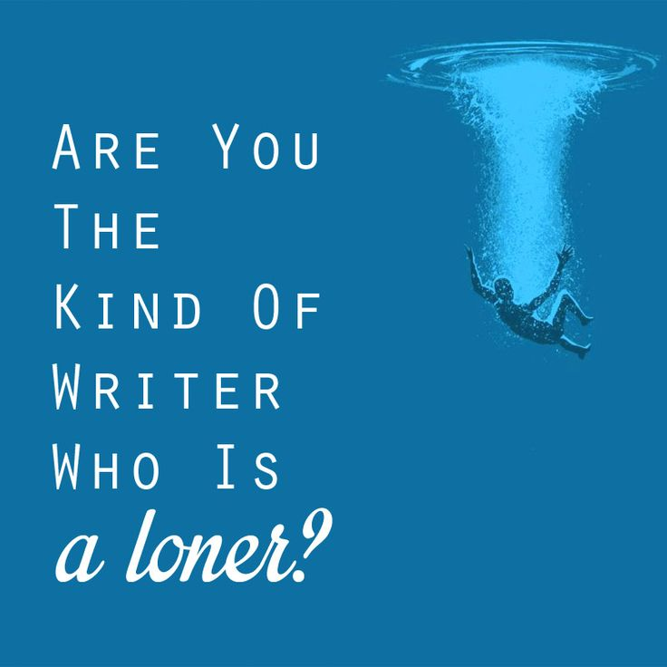 In publishing, we're constantly asking writers—typically a rather introverted bunch—to get involved, to engage, to network, to join groups and go to conferences. I often find myself wondering how many of you cringe every time you hear that kind of advice, but... See more at: http://writerslife.org/are-you-the-kind-of-writer-who-is-a-loner/#sthash.l9aj5Z3m.dpuf