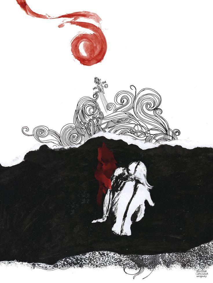 """""""Lacrimosa"""" www.bogna.art.pl"""