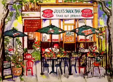 Julie's Cuban - this is the restaurant I will miss the most when we move