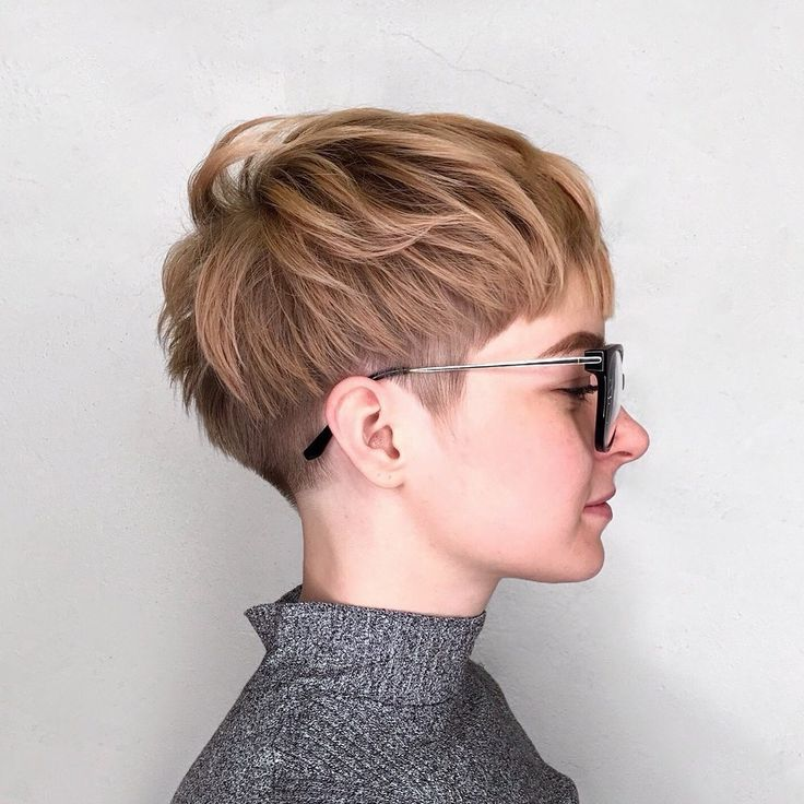 Chopped Undercut Pixie