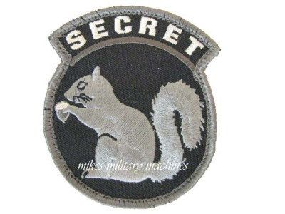 Military Black Ops Army Navy Seal Team Covert Top Secret Squirrel Swat Patch New by MilitaryMahogany on Etsy