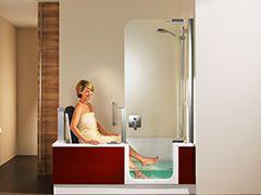 Die besten 25+ Duschbadewanne Ideen auf Pinterest   Badewanne ...   {Duschbadewanne 54}