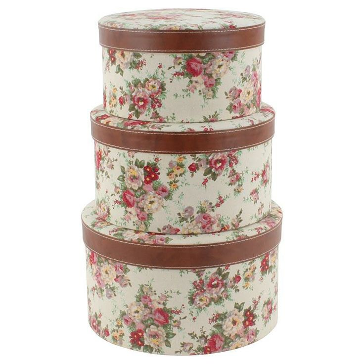 Wonderful paper #boxes with fabric www.inart.com