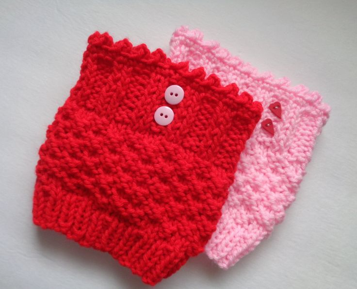 Valentine Boot Cuffs, Red Boot Toppers, Pink Boot Cuffs, One Pair, Choose Red or Pink, Women's Boot Cuffs, Hand Knitted, Leg Warmers, by GieseDeseiGns on Etsy