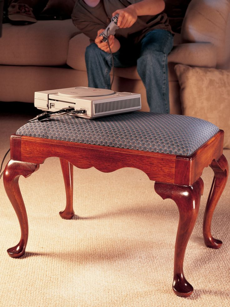 Old styles of furniture can still speak to us loud and clear today. The Queen Anne style, popular in America from 1725 to 1760, is an elegant language of flowing lines and reverse curves. This footstool is a small-scale example of a very elaborate style. If you've always wanted to try your hand at cabriole legs, which are one of the defining characteristics of Queen Anne furniture, this project is …