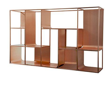 Copper View Installation By Ferruccio Laviani For KME. Copper Furniture ...