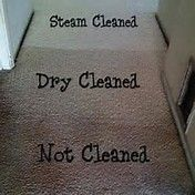 Isn't it obvious you need steam cleaning.