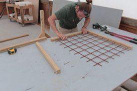 Deck Railing With Hogwire Panels – Decks and railings