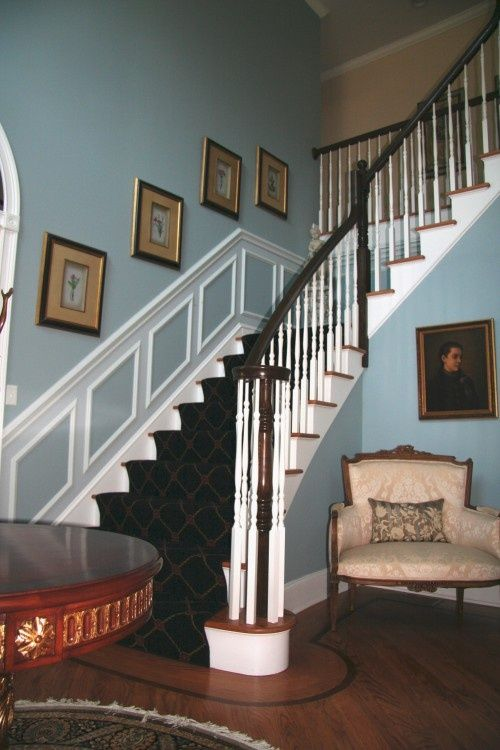 1000  images about blue foyer on pinterest