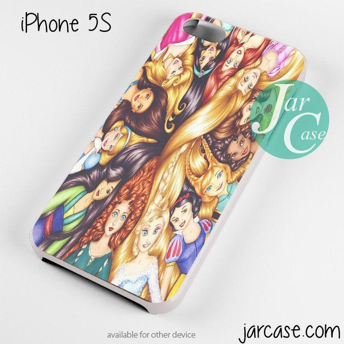 all disney princesses Phone case for iPhone 4/4s/5/5c/5s/6/6 plus