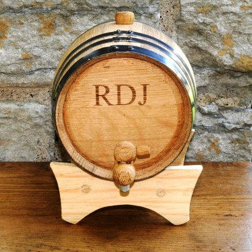 Groom or Groomsmen Gifts - Personalized Mini Whiskey Barrel