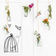 Vinilo decorativo Pájaro libre : Muren & vloeren van Chispum