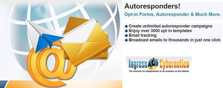 Autoresponders! Opt-in Forms, Autoresponder & Much More. Create unlimited autoresponder campaigns Enjoy over 3000 opt in templates Email tracking Broadcast emails to thousands in just one click
