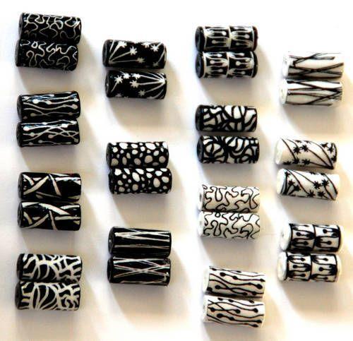 paper beads from zentangles & zendoodles