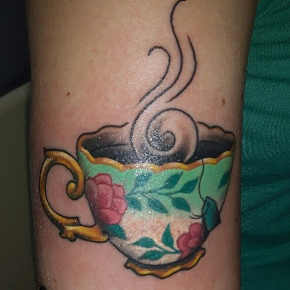 Vintage Teacup Tattoo Pictures to Pin on Pinterest - TattoosKid