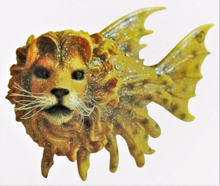 Lion Fish Ornament December Diamonds Funny Odd Holiday Christmas Tree Decor  #DecemberDiamonds