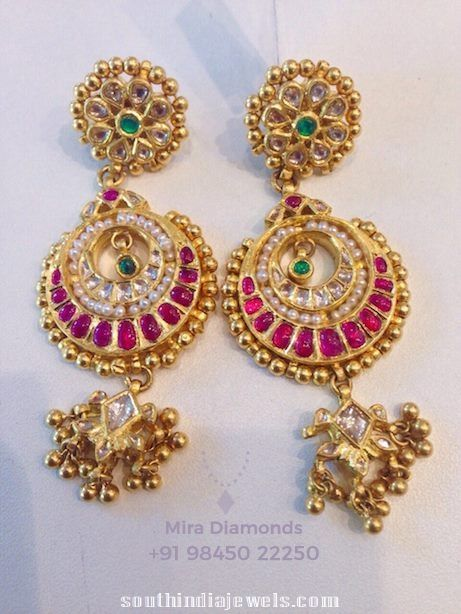 Stylish diamond earrings 2015