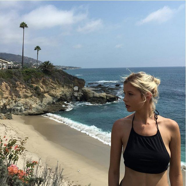 This girl though! @adrianna.christina making us jealous from  Laguna Beach #afends