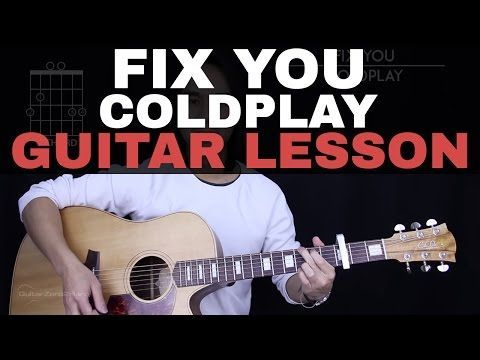 This is the guitar lesson for Coldplay\'s Fix You. This guitar ...