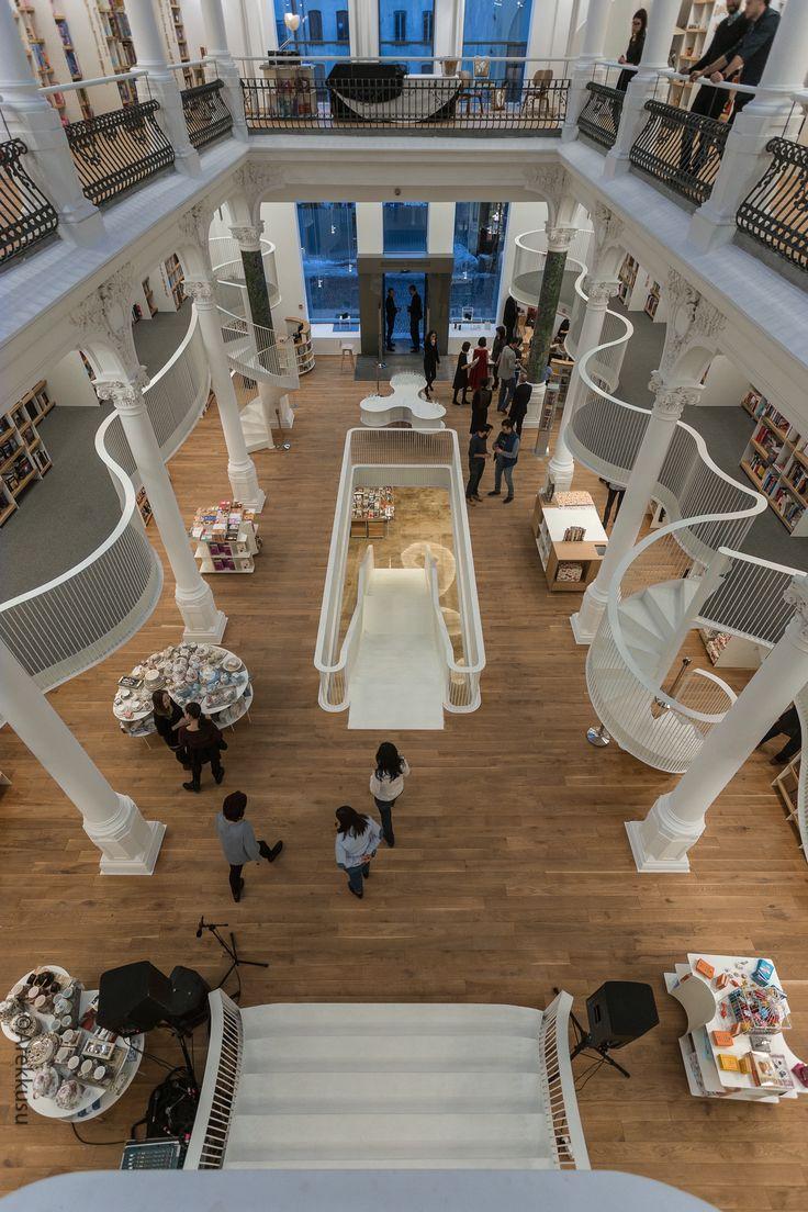 Cărturești Carusel Bookstore in Bucharest  | Opening night | carturesticarusel.ro #amazing #bookstore #carturesti
