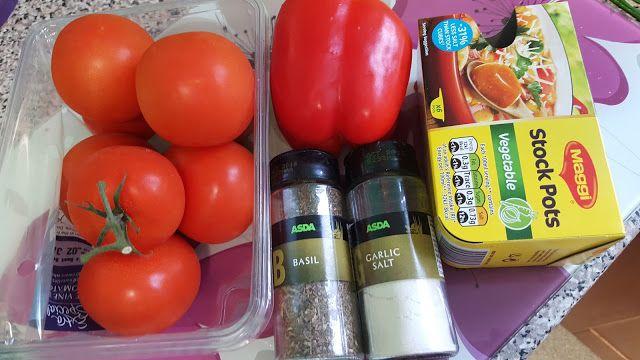 Raising The Rainbows: Slimming World Roast Tomato & Basil Soup Recipe