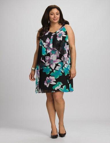 Летние платья для полных женщин - Тренды моды, мода 2014, модные тенденции и новинки моды - Мода и Красота - IVONA - bigmir)net - IVONA