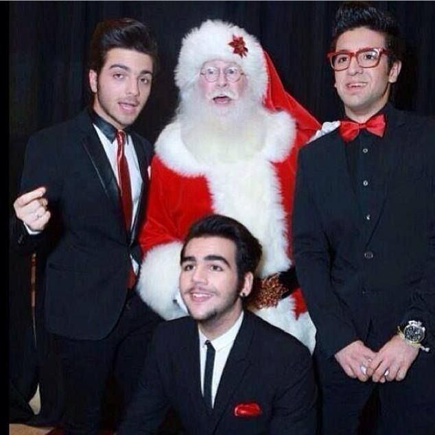 Guys with Santa back in 2013.
