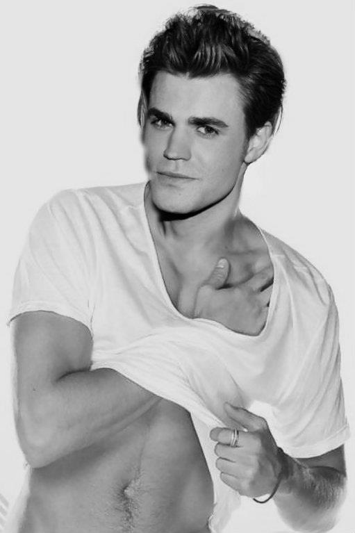 Paul Wesley @cassie stancell