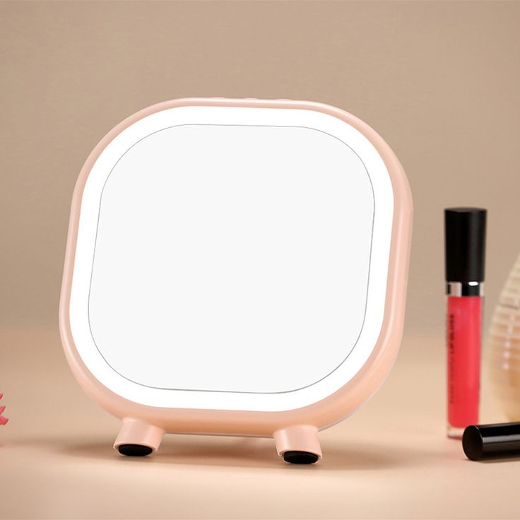 Superb Table Lamp with Bluetooth Speaker Bluetooth Vanity Mirror Light Storage LED Light for Make Up Portable