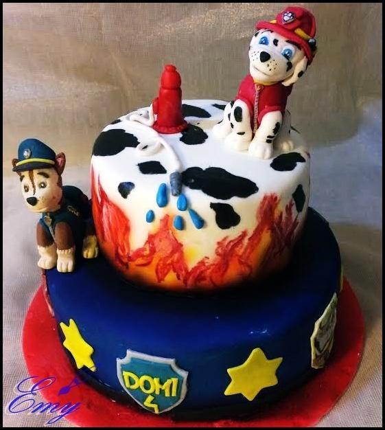 Paw Patrol cake - cake by EmyCakeDesign