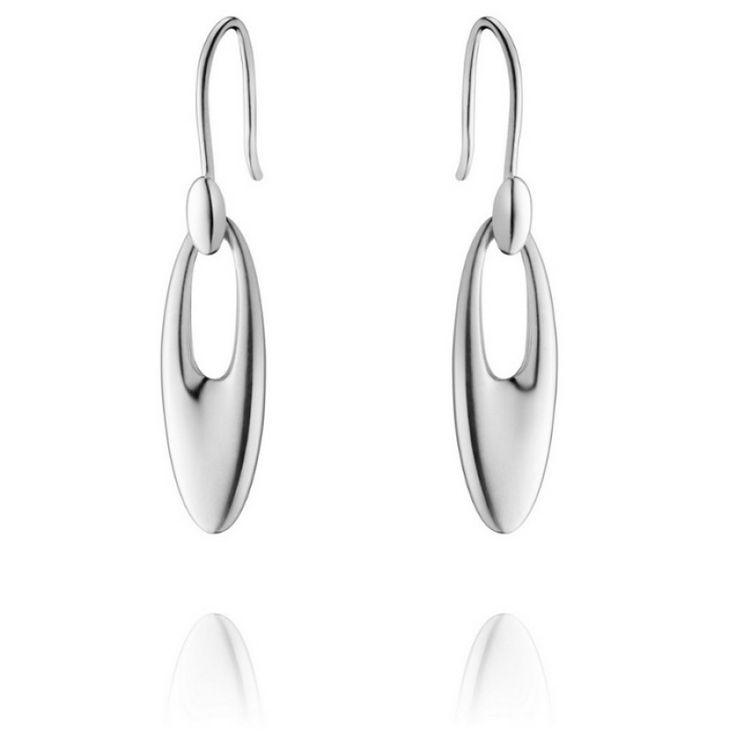 Zephyr Earrings by Georg Jensen - Silver #jewellery #cambridge #tourdefrance #chain #lapponia #style
