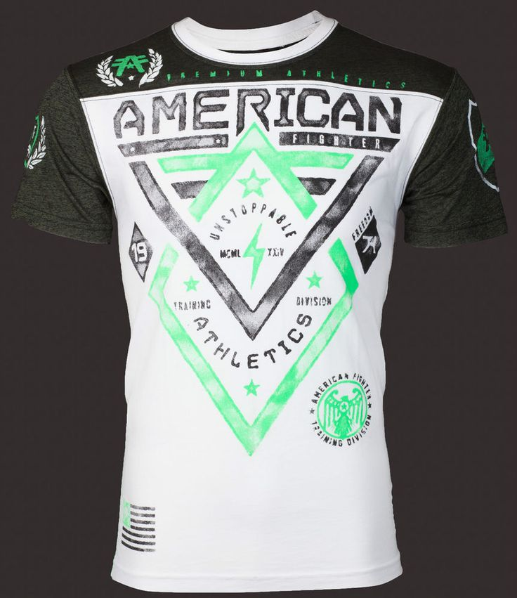 American Fighter AFFLICTION Men T-Shirt ALASKA ARTISAN Biker Gym UFC S-XXL $40 a #Affliction #GraphicTee